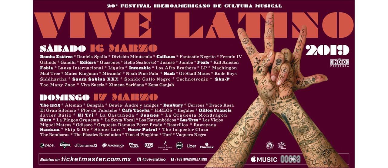 『 Oi-SKALL MATES 』がメキシコシティで開催される、メキシコ最大のロックフェスティバル「VIVE LATINO」に出演決定!!