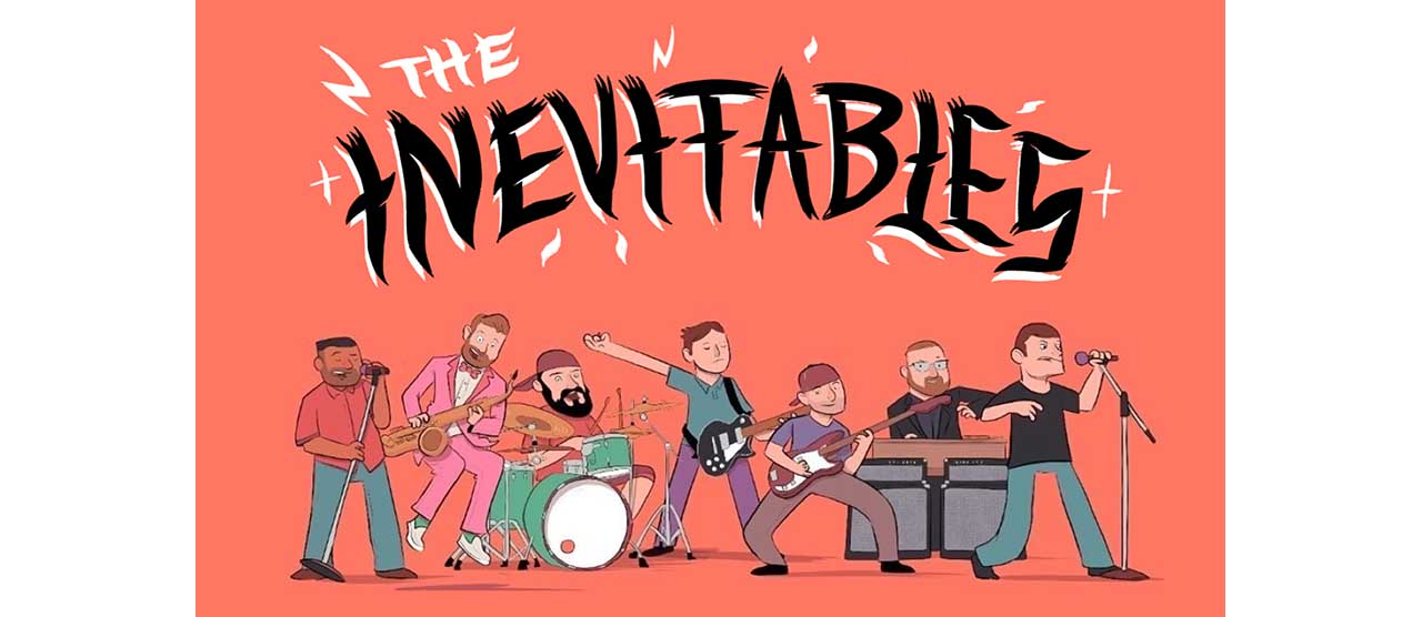 USスカ・パンクのスーパーグループ!『THE INEVITABLES』の日本デビューアルバム&スプリット7インチ発売決定!